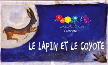 Project visual L'Opéra Le Lapin et le Coyote