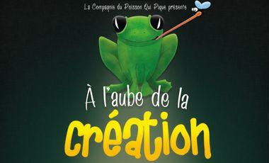 Project visual A l'Aube de la Création