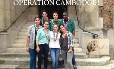 Visuel du projet Opération Cambodge: Aidons les enfants de la rizière!