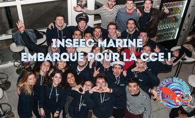 Visueel van project INSEEC Marine à la CCE