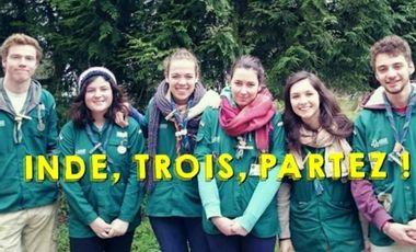 Visuel du projet INDE, TROIS, PARTEZ!