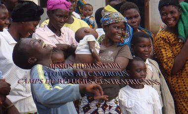 Visuel du projet Mission humanitaire : Clowns au Cameroun - Camps de réfugiés
