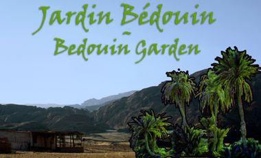 Project visual Jardin bédouin