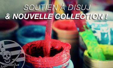 Visueel van project Soutien à DISUJ /// Nouvelle collection !