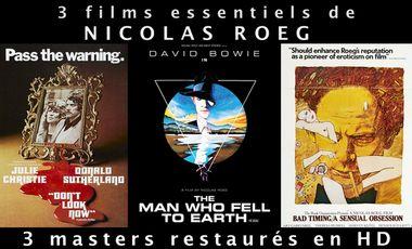 Project visual Trois films essentiels de Nicolas Roeg en Blu-Ray