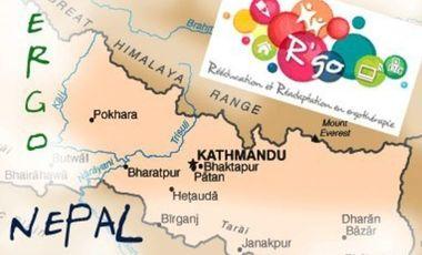 Visueel van project ergo au népal