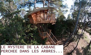 Project visual Le mystère de la cabane perchée dans les arbres