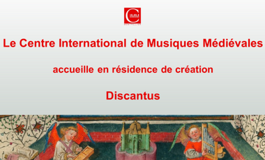 Project visual Centre International de Musiques Médiévales à Montpellier (CIMM).