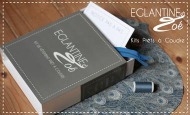 Visueel van project Eglantine et Zoé, Kits de vêtements Prêts à Coudre