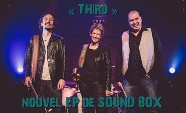 "Visueel van project ""THIRD"", nouvel EP de SOUND BOX"