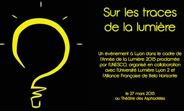 Visueel van project Sur les traces de la lumière / On the tracks of light