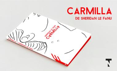 Project visual Carmilla de Sheridan Le Fanu, nouvelle édition