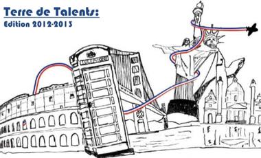 Visueel van project Terre de Talents 2012-2013