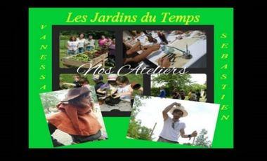 Project visual Les Jardins du Temps/ écologie/ Moyen âge