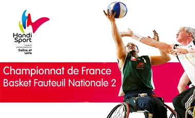 Project visual Phase Finale Basket Fauteuil Nationale 2