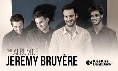 Visuel du projet Jeremy Bruyere Quartet : enfin le 1er Album !