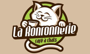 Project visual La Ronronnerie, le nouveau café à chats sur Nice