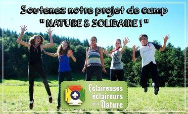 Visueel van project Soutenez notre projet de camp nature et solidaire !