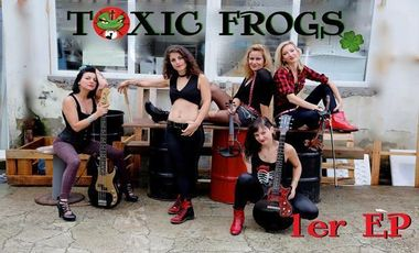 """Visueel van project TOXIC FROGS     1er EP :""""OBSESSION"""""""