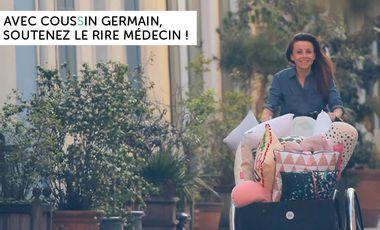 Visuel du projet Avec Coussin Germain, soutenez Le Rire Médecin !