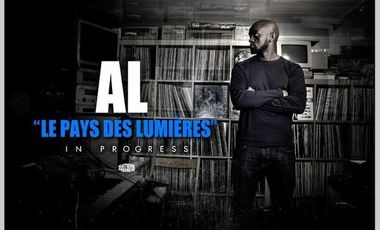 """Visueel van project Financez la mise en image du nouvel album de AL """"Le Pays des lumières"""""""