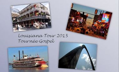 Project visual Louisiana Tour 2015 - Tournée gospel le long du Mississippi