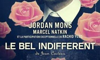 Project visual Le Bel Indifférent de Jean Cocteau