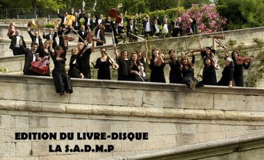 Visuel du projet Edition du livre-disque La Société Anonyme des Messieurs Prudents