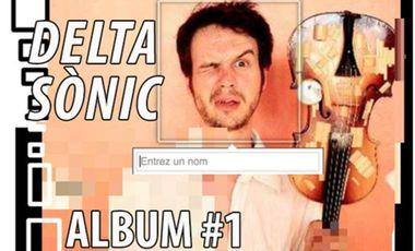 Visueel van project DELTA SÒNIC - ALBUM #1