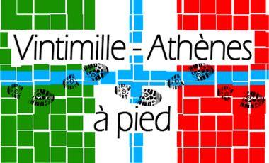 Project visual Vintimille - Athènes : 2300km à pied