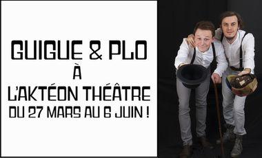 Visueel van project Guigue & Plo à l'Aktéon