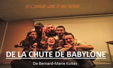 Project visual Théâtre : De la chute de Babylone