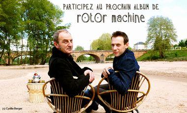 Visueel van project Rotor Machine - nouvel album
