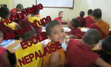 Project visual Aide aux enfants d'une école monastique au Népal