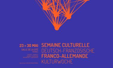 Project visual Semaine culturelle franco-allemande