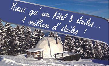 Visueel van project Mieux qu'un hôtel trois étoiles  …. un million d'étoiles