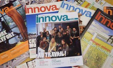 Visueel van project Innova 2015 : Au travail !