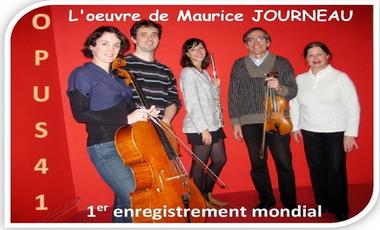 Project visual L'oeuvre de Maurice Journeau en 1er enregistrement mondial