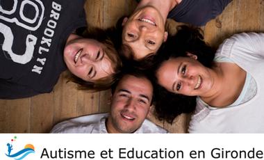 Visueel van project Autisme et Education en Gironde - D'une Rive à l'Autre