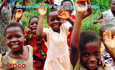 Visuel du projet Go To Togo - Construction d'un collège au Togo