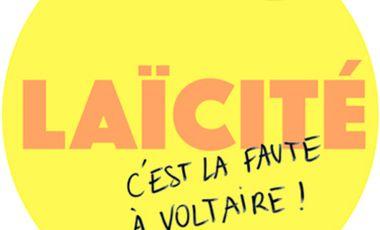 Project visual Laïcité ? C'est la faute à Voltaire !