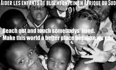 Project visual Aider les enfants de Bloemfontein en Afrique du Sud