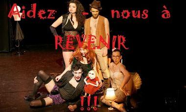 Project visual Le retour du Freaky Kabaret