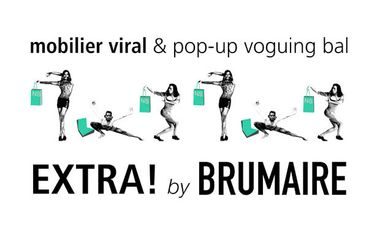 Project visual Mobilier viral & Pop up voguing bal