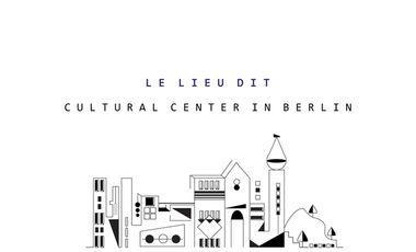 Visuel du projet Le Lieu Dit BERLIN