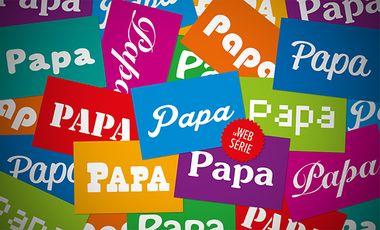 Project visual PAPA la web série