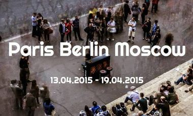"""Visueel van project Exposition """"Paris Berlin Moscow"""""""