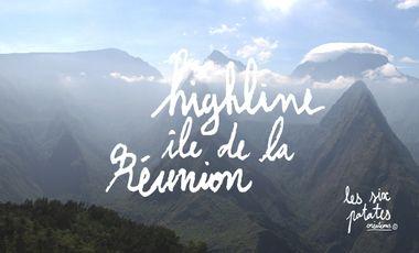 Visuel du projet Highline à l'île de la Réunion