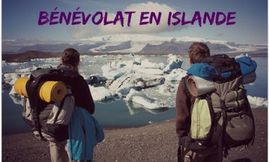 Project visual The blond volunteers tour in Iceland