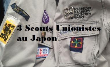 Visuel du projet Trois scouts unionistes rémois au Japon